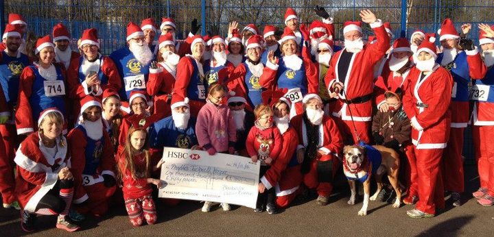 Blackwater Valley Runners Santa Run 2014